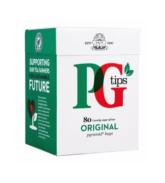 Herbata PG Tips Czarna w pieramidkach 80 szt (232g)