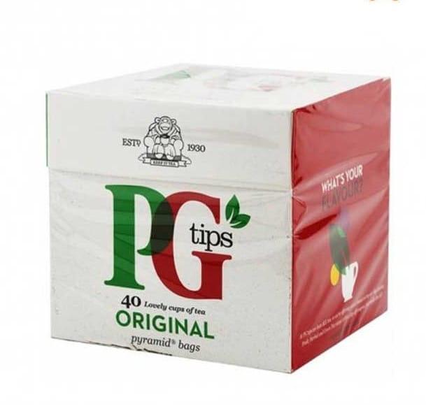Herbata PG Tips Czarna w pieramidkach 40 szt (116g)